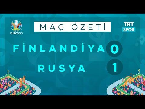 EURO 2020 | Finlandiya – Rusya (Özet)