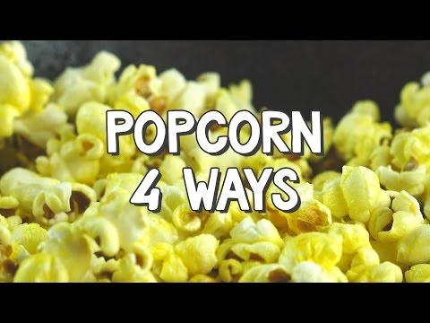 Popcorn 4 Ways - DIY$ by Perk