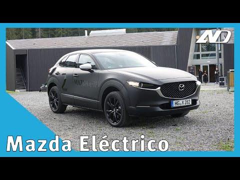 ¡Manejé el prototipo del auto eléctrico de Mazda en Noruega! - Primer vistazo en AutoDinámico