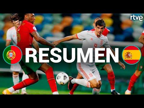 RESUMEN Portugal 0-0 España   Amistoso