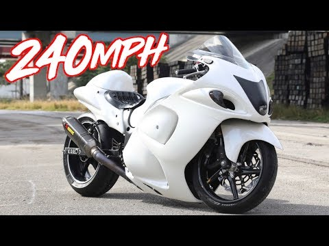 "240MPH Nitrous Hayabusa Top Speed Runs! - GTR & Lambo Killer""!"