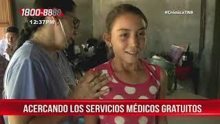 Nicaragua: Familias de San Rafael del Sur reciben atención gratuita en ferias de salud