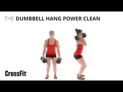 The Dumbbell Hang Power Clean