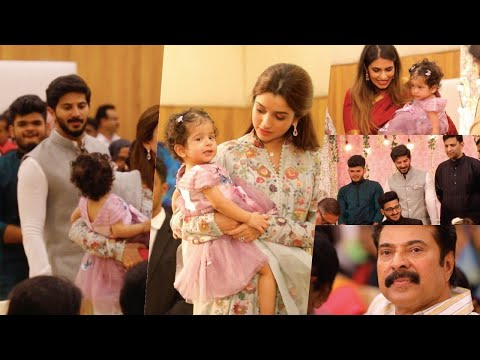 Dulquer Salmaan Daughter Mariyam At Wedding Event