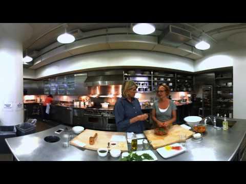 360� Video: Martha and Sarah Making No-Knife Pasta