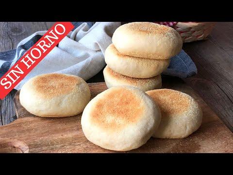 Pan casero a la sartén (receta paso a paso SIN HORNO)