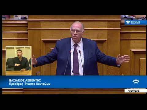Β. Λεβέντης, για την πρόταση μομφής / Βουλή / 16-6-2018