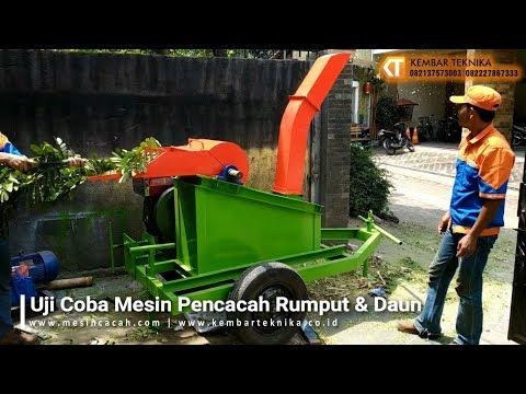 Mesin Pencacah Rumput dan Daun | Chopper