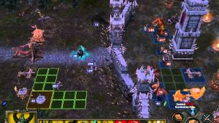 Heroes of Might & Magic 5 multiplayer - Game 2 (Necropolis vs Stronghold) Blitzkrieg