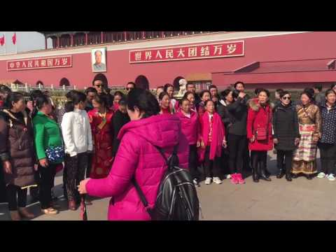 Taking a quick look at Beijing ending up in the Forbidden City