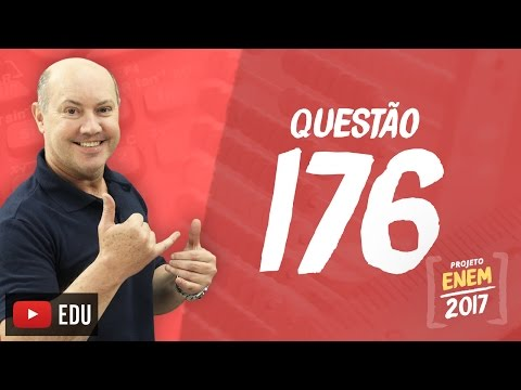 Enem 2016: Questão176(CadernoRosa)