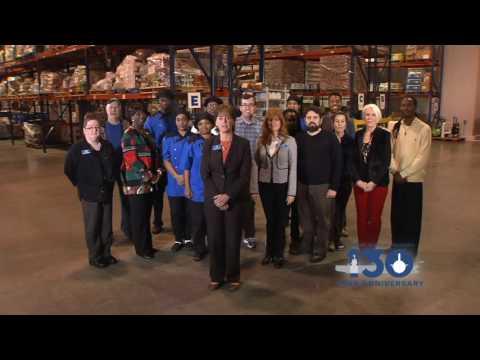 Virginia Peninsula Foodbank Congratulates NNS on 130 Years