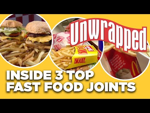Behind-the-Scenes at 3 TOP Fast-Food Burger Joints | Unwrapped | Food Network