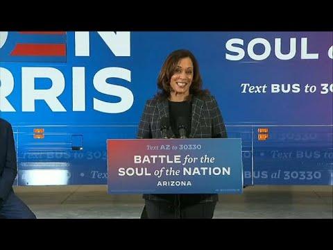 Kamala Harris será la primera vicepresidenta de Estados Unidos