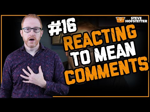 connectYoutube - Stand Up Comedian Responds to Mean YouTube Comments