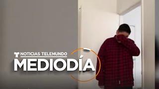 El llanto de un joven al saber que podrá vivir en un apartamento   Noticias Telemundo