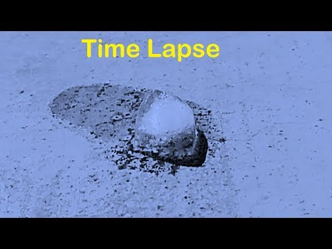 Amazing Time lapse video from Ice to Vapor