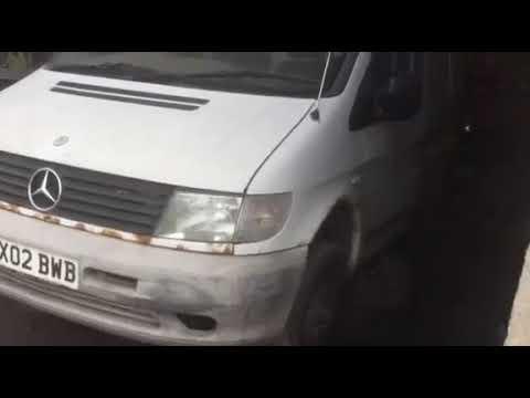 Mercedes-Benz Vito 2002 m dalys