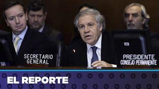 Consejo Permanente de la OEA condena con 26 votos la represión en Nicaragua.