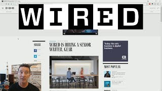 eevBLAB #45 - WIRED Job Ad & Tech Journalism