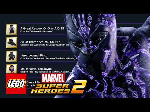 connectYoutube - LEGO Marvel Super Heroes 2: Black Panther DLC Pack - Achievements And Two New Characters Revealed!