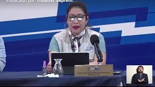 TSE juramenta a los delegados del escrutinio final de las elecciones 2021