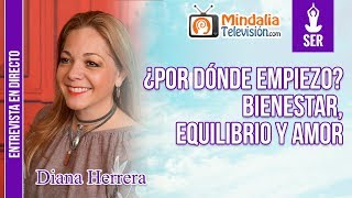 14/04/20 ¿Por dónde empiezo Bienestar, equilibrio y amor. Entrevista a Diana Herrera