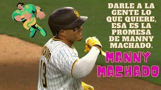 Manny Machado Limpio Las Bases del Petco Park de San Diego