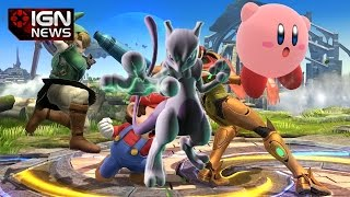 Mewtwo Will be Available as Paid DLC in Smash Bros. After All - IGN News