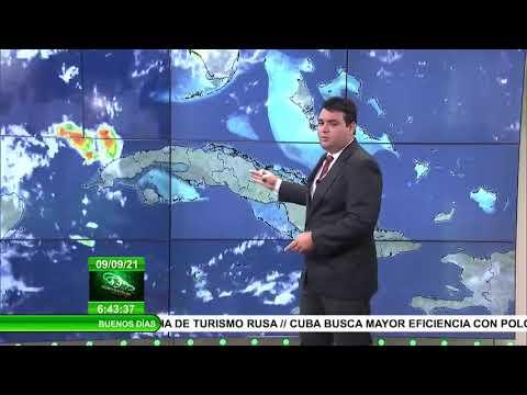 Pronóstico del tiempo en Cuba