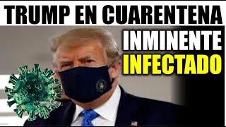 Ultimas noticias EEUU, TRUMP SE DECLARA EN CUARENTENA ¡URGENTE! 02/09/2020