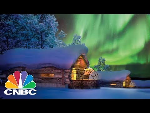 This Is The Best Way To See The Northern Lights—From A Glass Igloo Hotel   CNBC