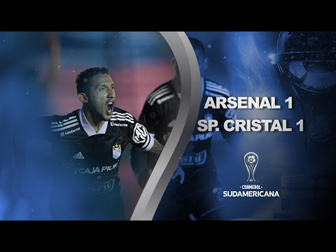 Arsenal vs. Sporting Cristal [1-1] | RESUMEN | Octavos de Final | Vuelta | CONMEBOL Sudamericana