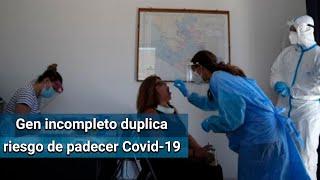 """Portar un gen """"defectuoso"""" duplica el riesgo de padecer Covid-19 grave"""