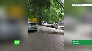 Crimée : état d'urgence déclaré à Yalta touchée par les inondations