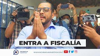 ???? #ÚLTIMAHORA   Llega a la Fiscalía Félix Maradiaga, precandidato presidencial. #Nicaragua