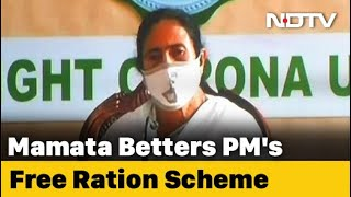 After PM's 'Free Ration' Move, Mamata Banerjee Takes It Up A Notch - NDTV