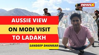 Aussie View on Modi Ladakh Visit | From Melbourne | NewsX - NEWSXLIVE