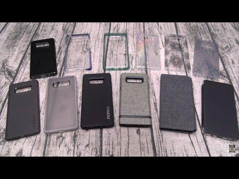 Samsung Galaxy Note 8 Incipio Case Lineup