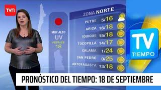Pronóstico del tiempo: Viernes 19 de septiembre | TV Tiempo