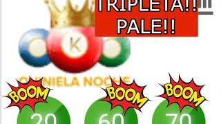 BOOM!! BOOM! BOOM!! TRIPLETA 20-60-70 EN LA LOTERIA KING !! ????????????