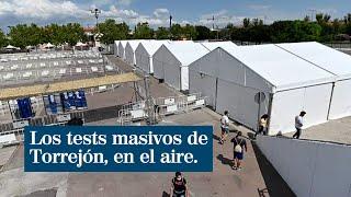 Los tests masivos de seroprevalencia a la población de Torrejón de Ardoz, en el aire