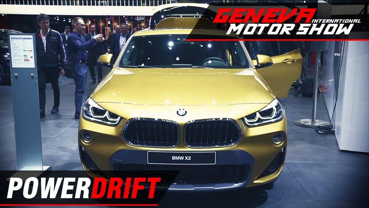 BMW X2 - Smallest kid on the block : Geneva Motor Show 2018 : PowerDrift