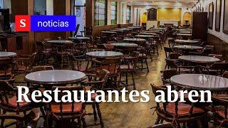 Pandemia: ¿sabe cómo funcionarán los restaurantes en Colombia Entérese | Semana Tv