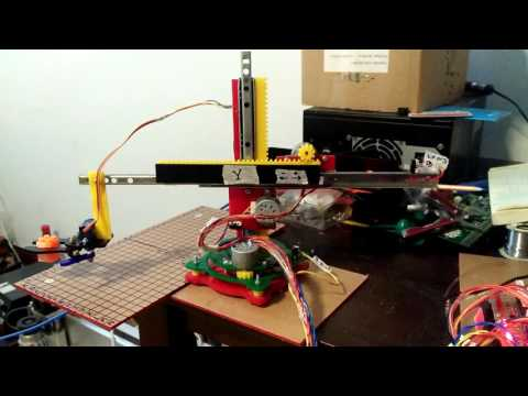 Robot arm with stepping motor arduino nano