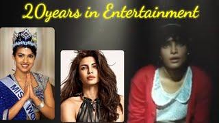 20 glorious years of Priyanka Chopra Jonas I From being crowned as Miss World 2000 to Hollywood - TELLYCHAKKAR