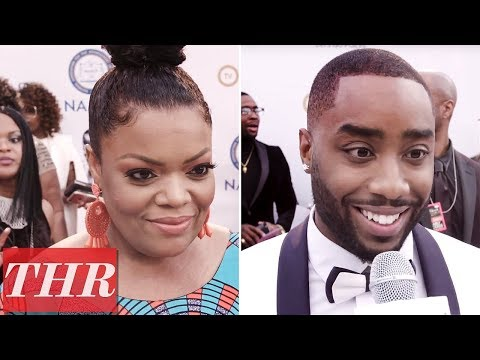 connectYoutube - Team Issa or Team Lawrence? Yvette Nicole Brown, Marcc Rose, & More Answer! | NAACP Awards 2018