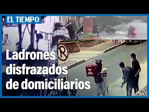Delincuentes disfrazados como domiciliarios, han protagonizado cuatro robos en los ultimos dias