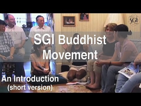 SGI Buddhist Movement: An Introduction