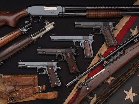 Rare U.S. Military Arms